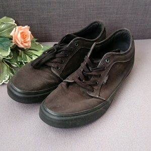 Black Vans Pro Skater shoes size 12
